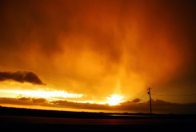 Dramatic Skies Living Life Fully